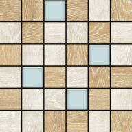 Плитка Colorker Eternal Wood Mosaico Mix Glass C