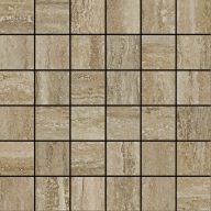 Плитка Италон Travertino Silver Mosaico Cerato
