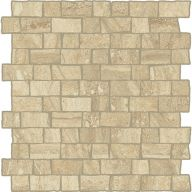 Плитка Италон Charme Advance Wall Project Travertino Mosaico Raw Cer