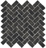 Плитка Италон Room Stone Black Mosaico Cross Cer