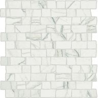 Плитка Италон Charme Advance Wall Project Platinum Mosaico Raw Cer