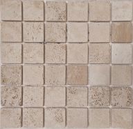 Плитка Colori Viva Travertino Mos.Turkish Travertine Tumbled+Sealed