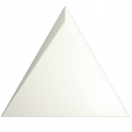 Плитка ZYX Evoke Triangle Cascade White Matt