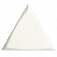 Плитка ZYX Evoke Triangle Channel White Matt