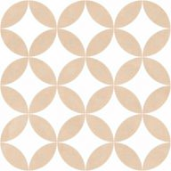 Плитка Mayolica District Circles Beige